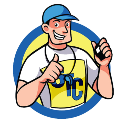 Graphic Tee Coach Logo Image of Coach smiling with whistle and thumbs up