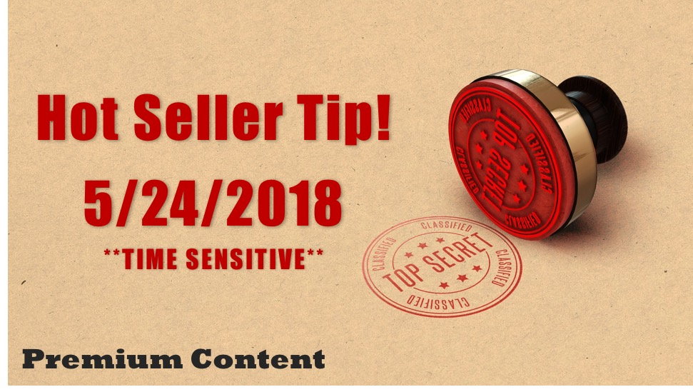 Hot Seller Featured Image with Top Secret Stamp