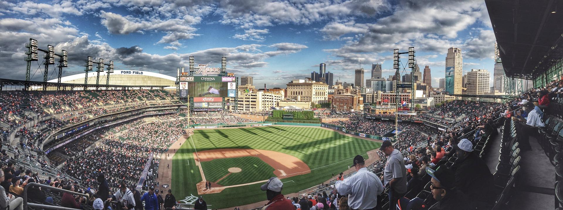 Baseball Field Panoramic Shot