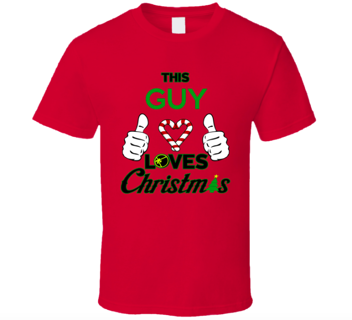 Plain Christmas T-Shirt Image Example
